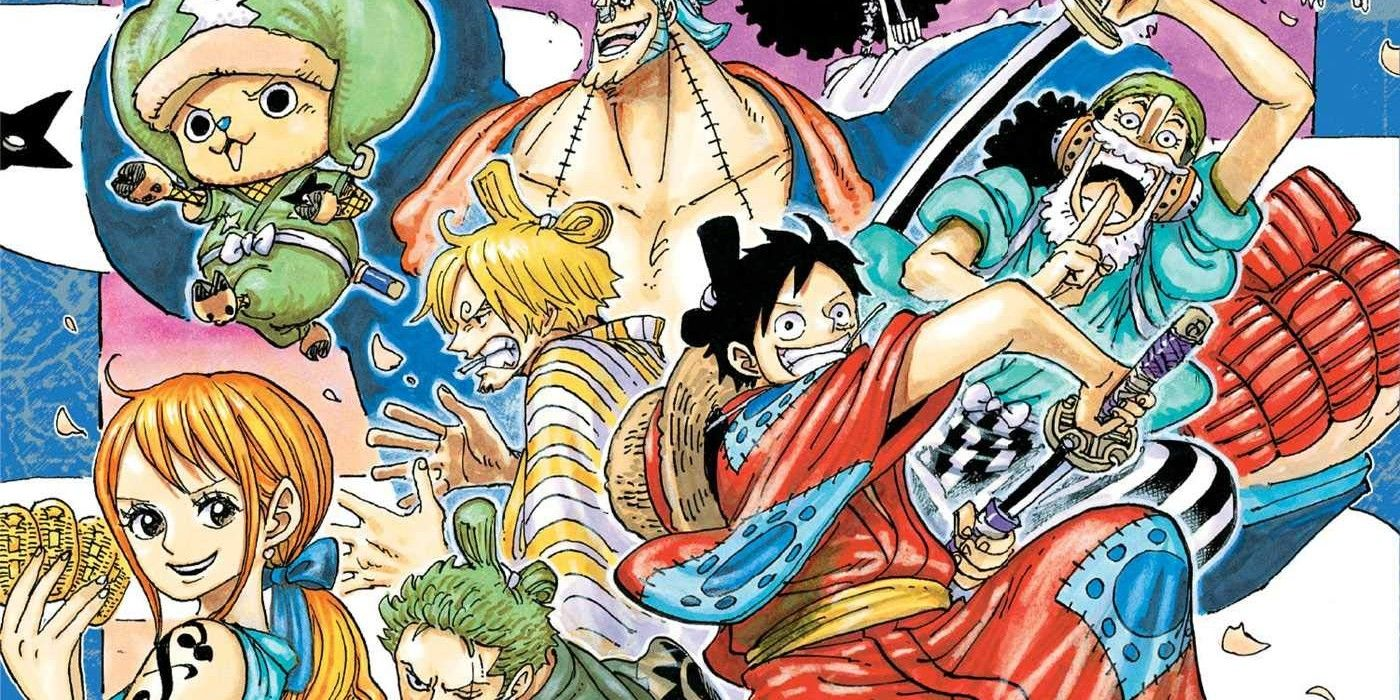 One Piece Chapter 1002